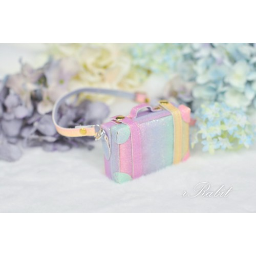 1/3 & 1/4 & 1/6 mini Suitcase - Rainbow
