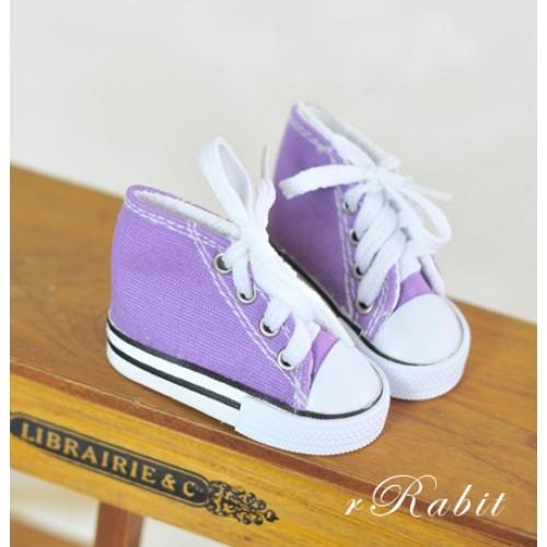 [1/4 & 1/3 Girl] Cute Sneakers - US001 Purple