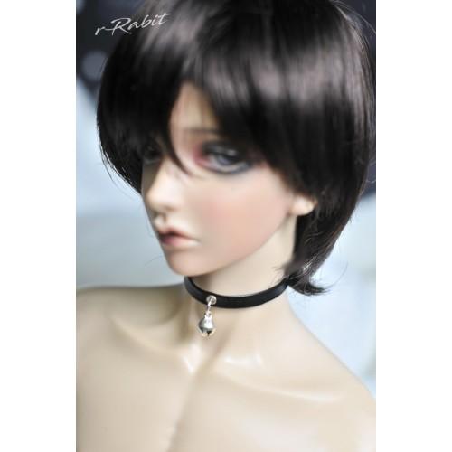 1/3 GIRL Leather neck band - Black