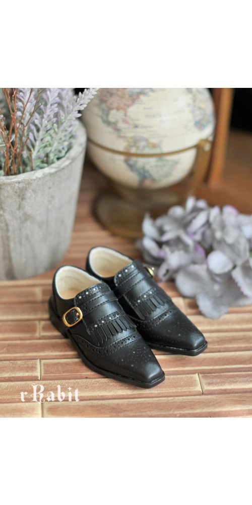 SD13/SD17 - Bourbon Oxford Shoes- RSH004 Black