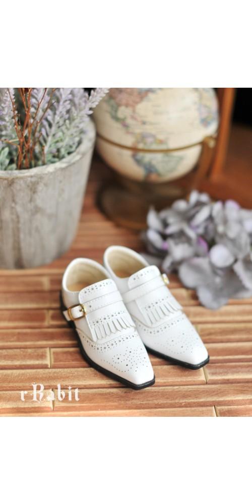 SD13/SD17 - Bourbon Oxford Shoes- RSH004 White