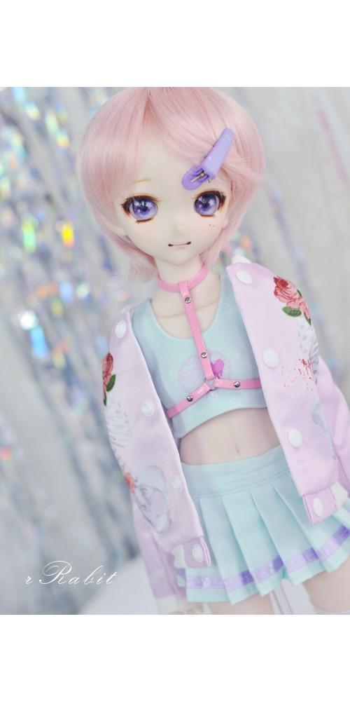 [1/4 MSD MDD] Cheer Up! Dress Set - UC001 2103 (Mint Cage)
