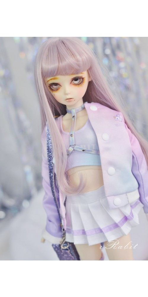[1/4 MSD MDD] Cheer Up! Dress Set - UC001 2106 (Colorful Cloudy)