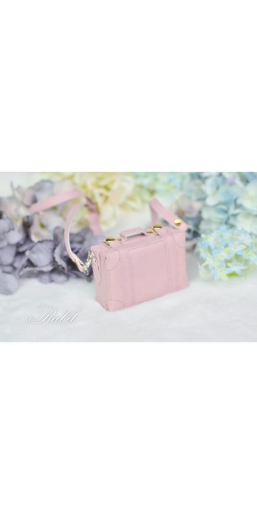 1/3 & 1/4 & 1/6 mini Suitcase - Pink